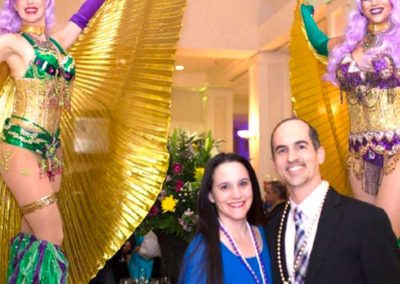 Bourbon Street Comes Alive at 5th Annual We Care Mardi Gras Celebration
